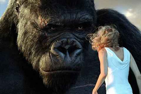 Finally a Real Man - King Kong checks out his date
