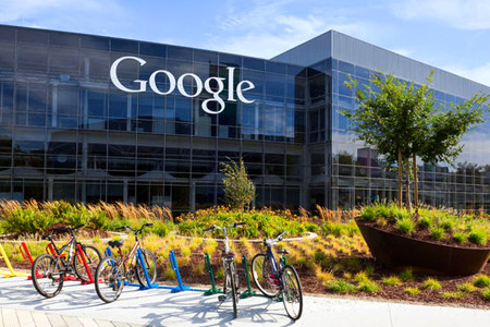 Google office at Mountain View California - how Internet giants are reshaping our world, for the better or worse...