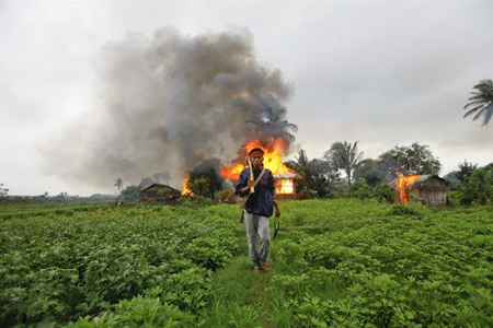 Communal violence incited by ultra-nationalist Buddhist group Ma Ba Tha has destroyed Rohingya homes and villages in Rakhine
