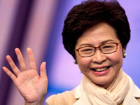 New Hong Kong Chief Executive Carrie Lam