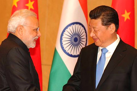 Too many junkets? Indian Prime Minister Narendra Modi with Chinese President Xi Jinping