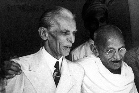 Jinnah and Mahatma Gandhi enjoyed close times too