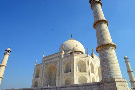 The Taj Mahal, an ode to love, is under threat from the Hindu fundamentalist BJP party in India