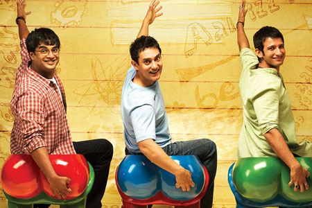 Indian movie 3 Idiots took Asia by storm